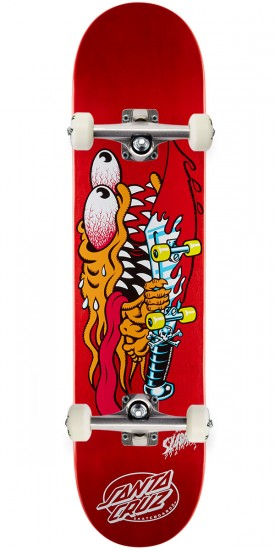 Santa Cruz Slasher Skateboard Complete - 7.25