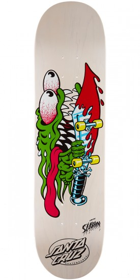 Santa Cruz Slasher Skateboard Deck - 8.0