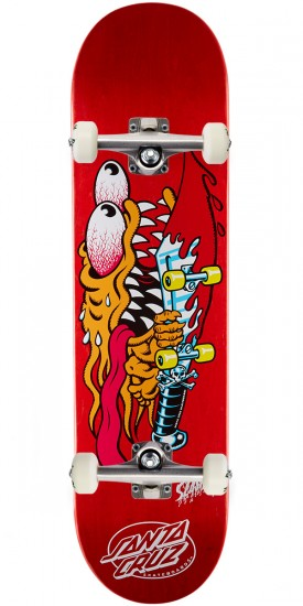 Santa Cruz Slasher Skateboard Complete - 8.2