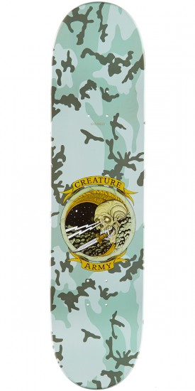 Creature Army Skateboard Deck - 8.0