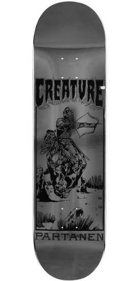 Creature Partanen Plague Pro Skateboard Deck - 8.30""