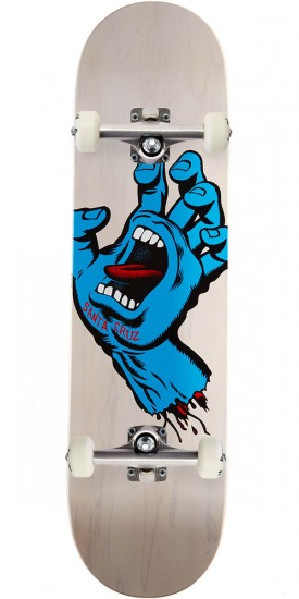 Santa Cruz Minimal Hand Eight Two Five Team Skateboard Complete - 8.25