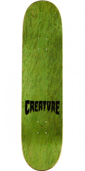 Creature Shredded Team Skateboard Deck - 8.25