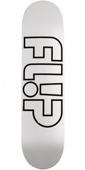 Flip Team Odyssey Whiteout Team Skateboard Deck - 8.0