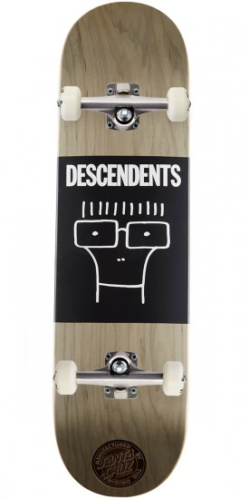 Santa Cruz X Descendents Milo Head Skateboard Complete - 8.25""