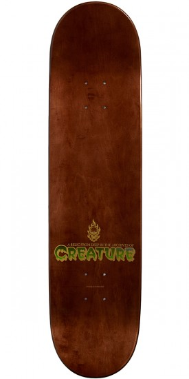 Creature The Thing Resurrection Team Skateboard Deck - 8.0