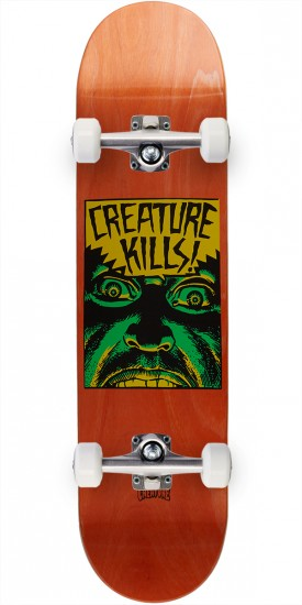 Creature Ambush Hard Rock Maple Skateboard Complete - 7.75