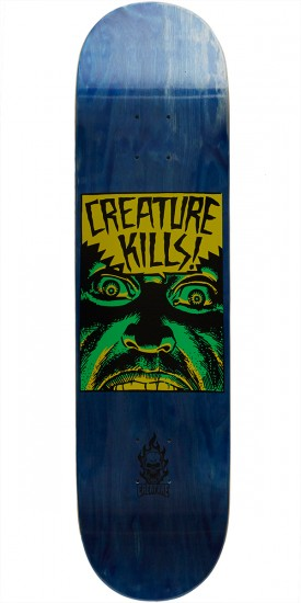 Creature Ambush Hard Rock Maple Skateboard Deck - 8.0
