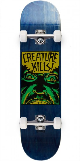 Creature Ambush Hard Rock Maple Skateboard Complete - 8.0