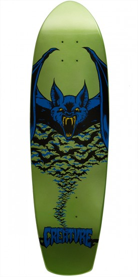 Creature Kustom Bat Team Skateboard Deck - 8.8
