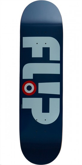 Flip Team Modyssey Logo Team Skateboard Deck - Blue - 8.25