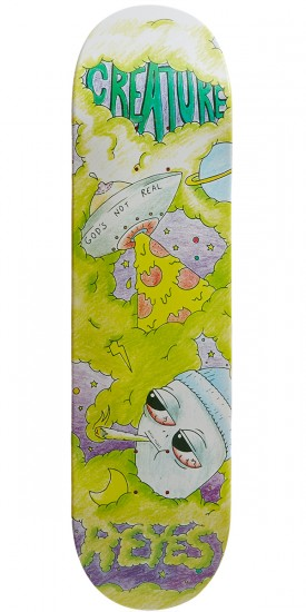 Creature Reyes Not Real Pro Skateboard Deck - 8.25