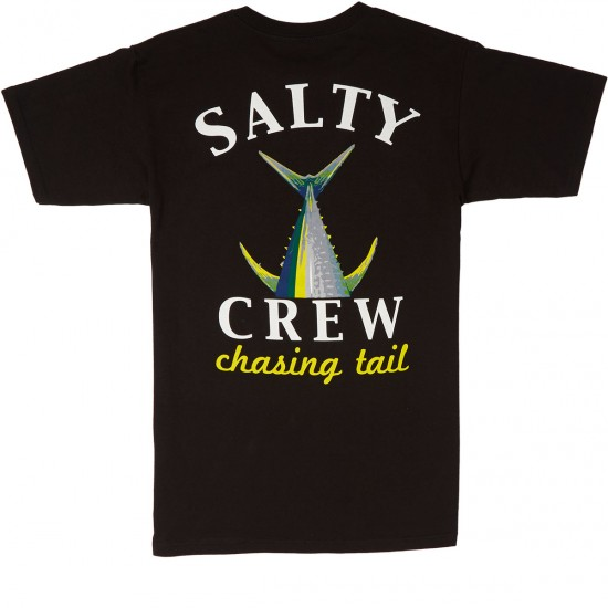 Salty Crew Chasing Tail T-Shirt - Black