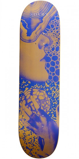 SOVRN Gold Touch Skateboard Deck - 8.25""