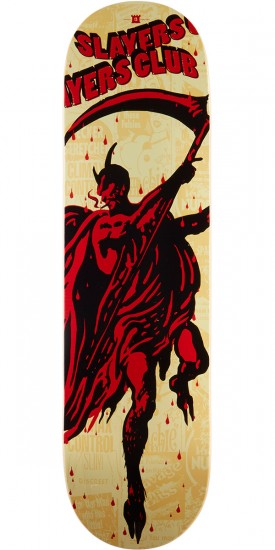 Bacon Slayers Club Orion Skateboard Deck - 8.38""