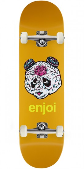 Enjoi Quinceanera Panda R7 Skateboard Complete - Orange - 8.50""