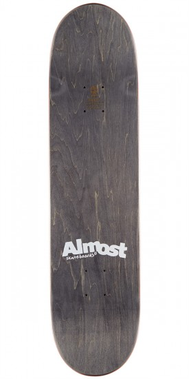 """Almost Noble Dot R7 Skateboard Deck - Red - 8.0"""""""