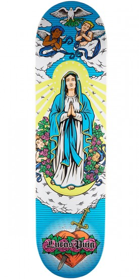 Cliche Virgin Mary R7 Skateboard Deck - Lucas Puig - 8