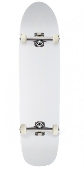 Enjoi Tiny White R7 Skateboard Complete - White - 7.75""