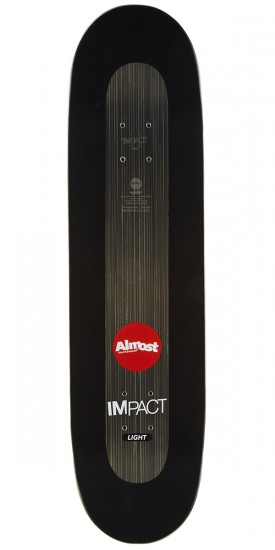 Almost Neon Power Supply Impact Light Skateboard Deck - Chris Haslam - 8.5""