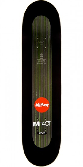 Almost Neon Power Supply Impact Light Skateboard Deck - Willow - 8.0""