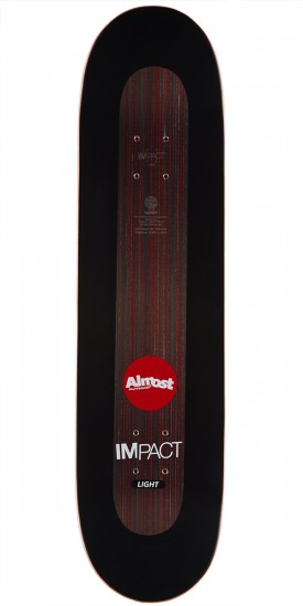 Almost Neon Power Supply Impact Light Skateboard Deck - Daewon Song - 8.25""