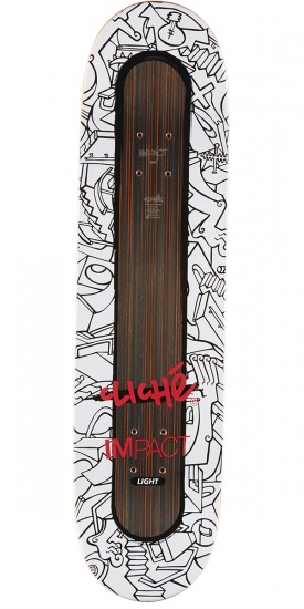 Cliche Nils Impact Light Mirtain Skateboard Complete - 8.25""