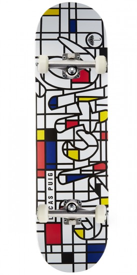 """Cliche Musee R7 Puig Skateboard Complete - 8.25"""""""