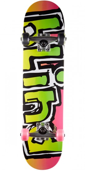 Blind OG Matte Youth Skateboard Complete - Magenta - 7