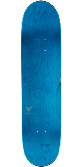 Darkstar Axis RHM Skateboard Complete - Red/Aqua - 8.0