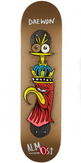 Almost Bird Shits Impact Plus Skateboard Deck - Daewon Song - 8