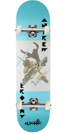 Cliche Tierney Pro R7 Skateboard Complete - Andrew Brophy - 8.125