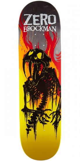 Zero From Hell Series Impact Light Skateboard Deck - James Brockman - 8.5