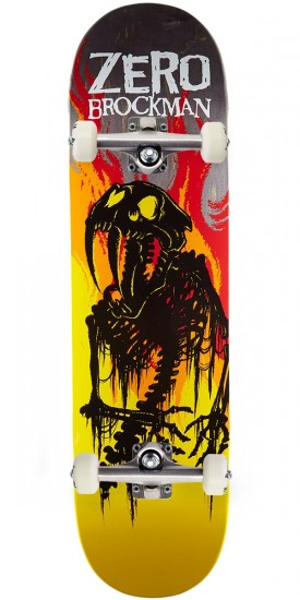 Zero From Hell Series Impact Light Skateboard Complete - James Brockman - 8.5