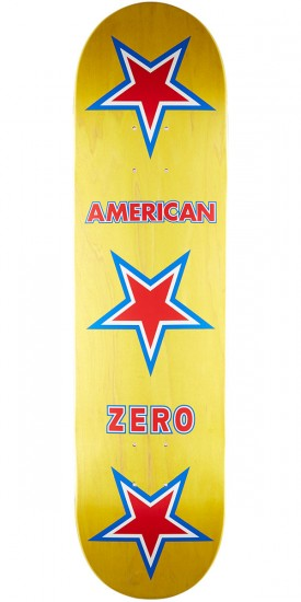 Zero American Zero R7 Skateboard Deck - Red/White/Blue - 8.0