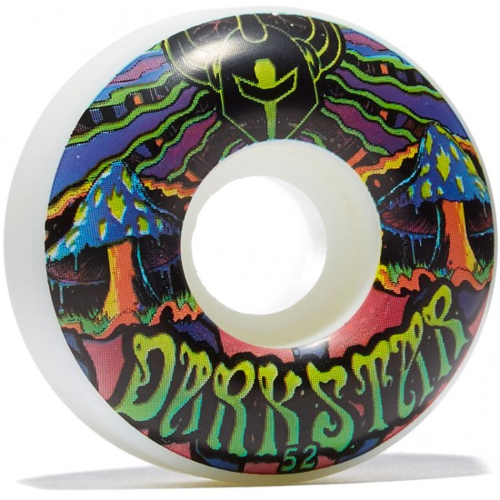 Darkstar Trippy Skateboard Wheels - Green - 52