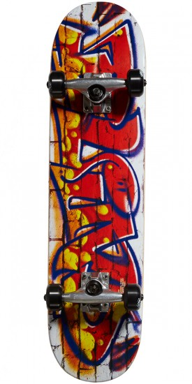 Blind Spray Wall Youth Skateboard Complete - Multi - 7.25