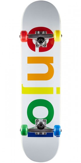 Enjoi Spectrum Skateboard Complete - White - 7.5