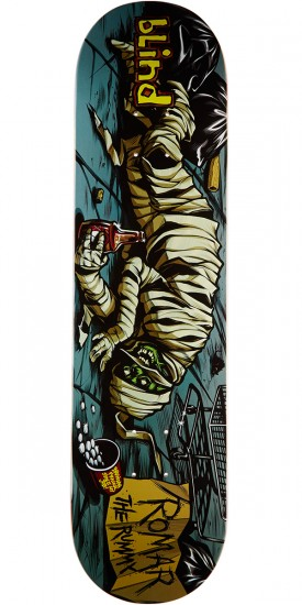Blind Morgan Party Monster R7 Skateboard Deck - Kevin Romar - 8.0