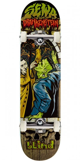 Blind Morgan Party Monster R7 Skateboard Complete - Sewa Kroetkov - 7.75