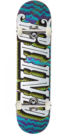 Blind Line Up HYB Skateboard Complete - Purple/Teal - 8.0