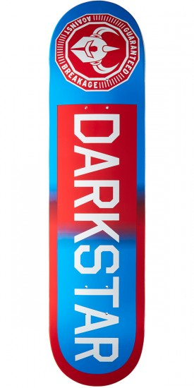 Darkstar Timeworks RHM Skateboard Deck - Red/Blue Fade - 7.75