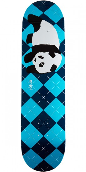 Enjoi Scarf Panda R7 Skateboard Deck - Blue - 8.0