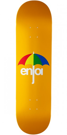 Enjoi Umbrella Hybrid Skateboard Deck - Orange - 8.375