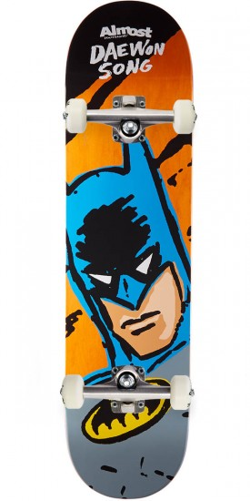 Almost Sketchy Batman R7 Skateboard Complete - Daewon Song - 7.75