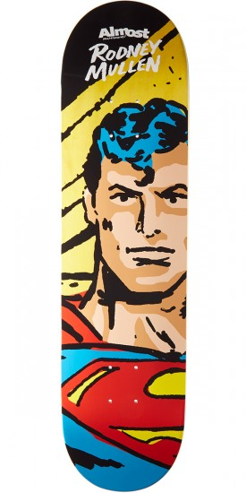 Almost Sketchy Superman R7 Skateboard Deck - Rodney Mullen - 8.0