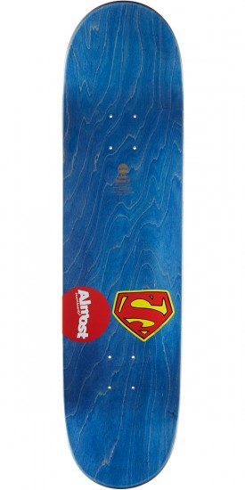 Almost Sketchy Superman R7 Skateboard Deck - Rodney Mullen - 8.25