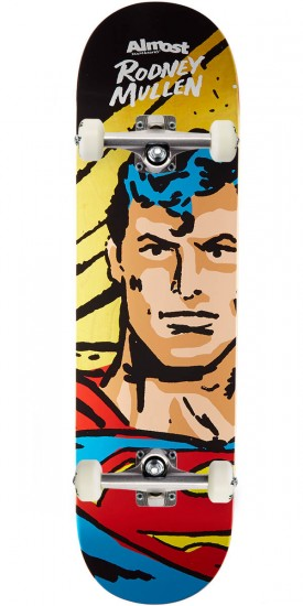 Almost Sketchy Superman R7 Skateboard Complete - Rodney Mullen - 8.25