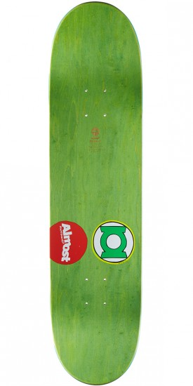 Almost Sketchy Green Lantern R7 Skateboard Complete - Youness Amrani - 8.125