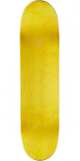 Cliche Handwritten Classic Hybrid Skateboard Deck - Navy/Light Blue - 8.25